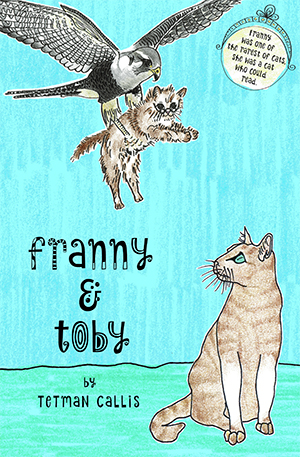 Franny is one of the rarest of cats, for she is a cat who can read